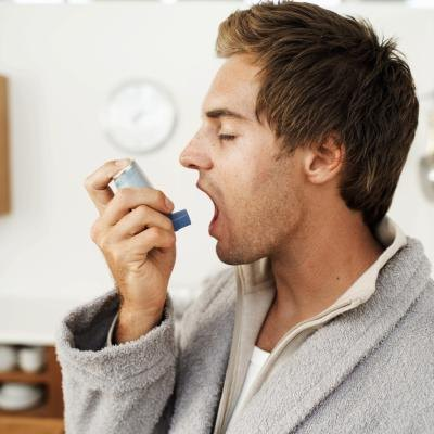 Asthmatics have decreased lung function following consumption of whole milk.