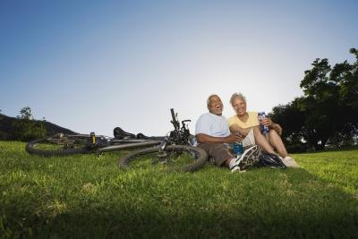 Senior citizens that stay active and involved enjoy small town living.