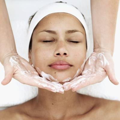 A chemical peel administered by a professional is an option for treatment.