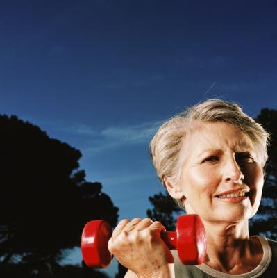 Strength training can help seniors maintain bone density and improve mobility.