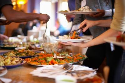 What are the Serving Sizes for Catering a Party?