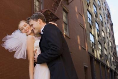 A wedding photographer based in New York City will typically have a higher fee than another based in a small town.
