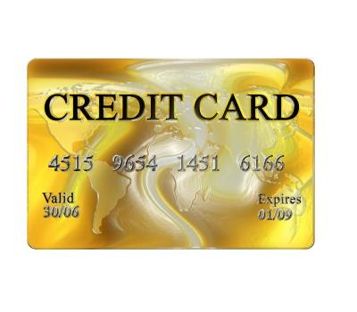 Wiring money through a credit card.