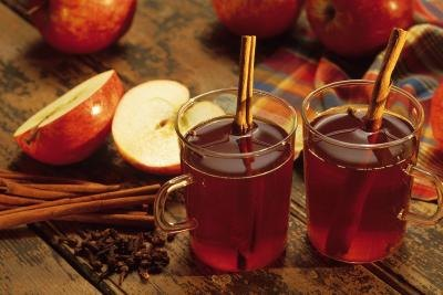 Spiced cider is a perfect winter holiday favorite.