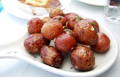 Roasted red potatoes