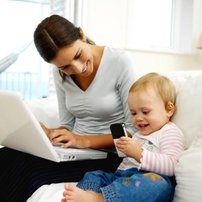 There are a variety of jobs for stay-at-home moms.