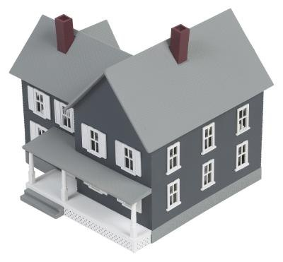 Materials to build a model house with pictures ehow for Different models of houses