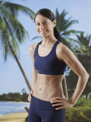 A tight stomach is the product of smart exercise and a good diet.