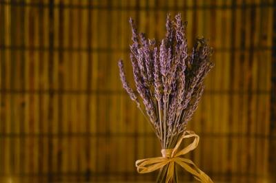 A bunch of lavender paired with cinnamon and cedar chips is a great way to create your own air freshener