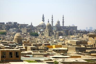View of Cairo.