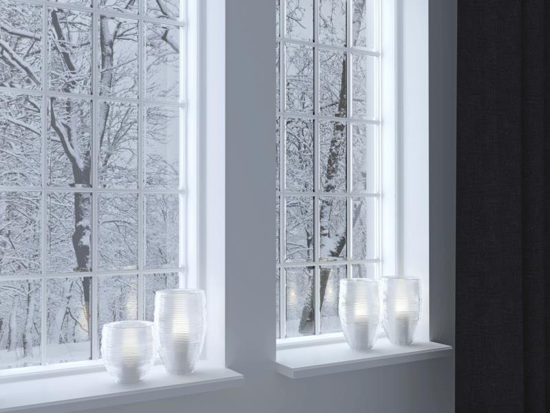 A candle in the window signals a readiness to engage with the world outside your home.