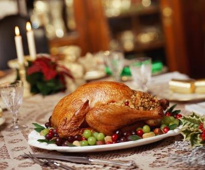 It is recommended to separate the stuffing from the turkey to ensure safe cooking.