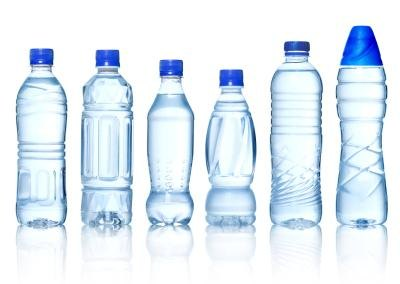 Plastic bottles come in many designs.