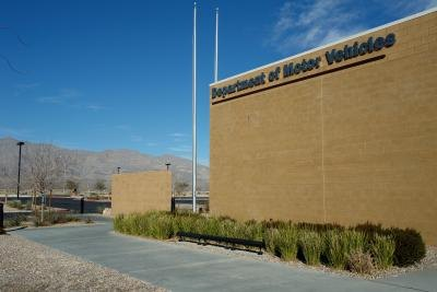 A department of motor vehicles.
