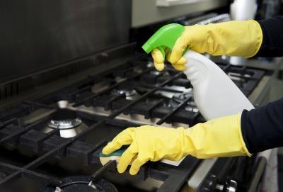 Disinfectants contain strong acids to kill bacteria