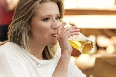 The liver prioritizes processing alcohol before fat.