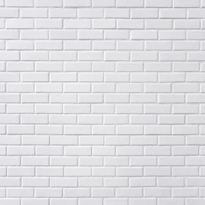 White bricks.