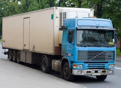 1 Ton truck with trailer