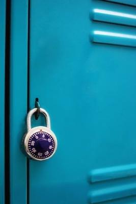 Don't forget the lock -- it's the most important part of your locker.