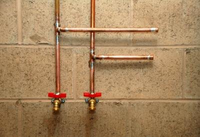 Copper piping is known for lasting a long time.