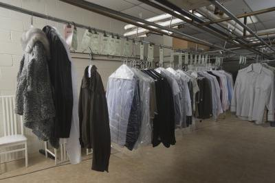 Dry cleaning uses harsh chemicals.