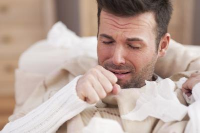 Coughing may irritate the vocal cords further.