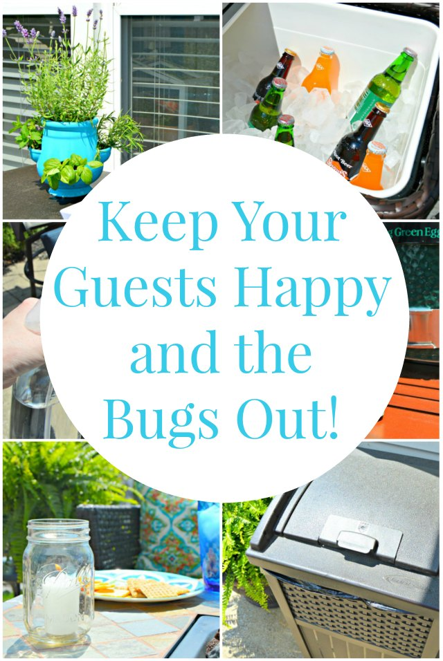Backyard bbq 5 ways to keep your guests happy and the bugs out ehow - Keep mites away backyard hiking ...