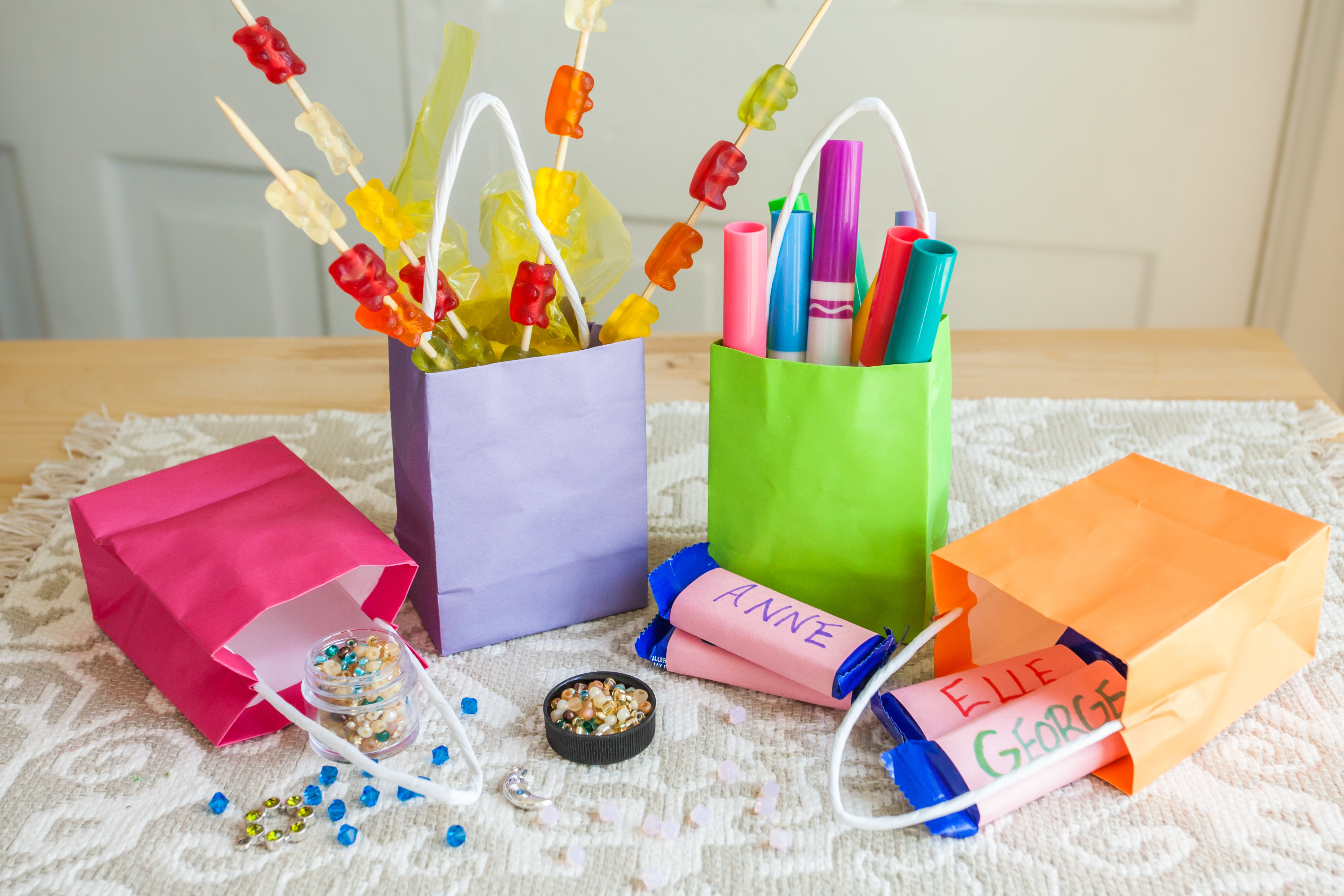 Ideas For Kids Birthday Party Gift Bags (with Pictures)