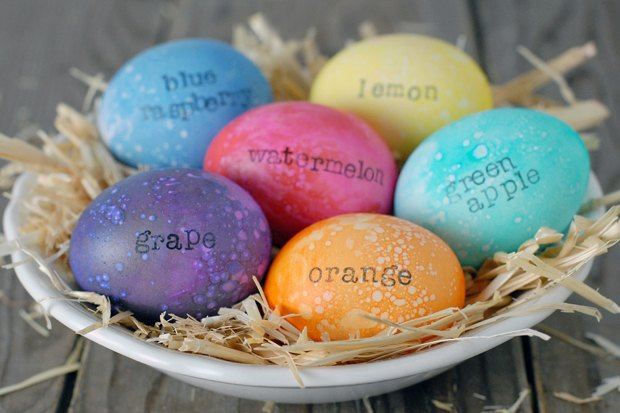These eggs look AND smell amazing.