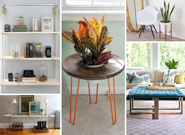 diy build your own living room furniture ehow. Black Bedroom Furniture Sets. Home Design Ideas