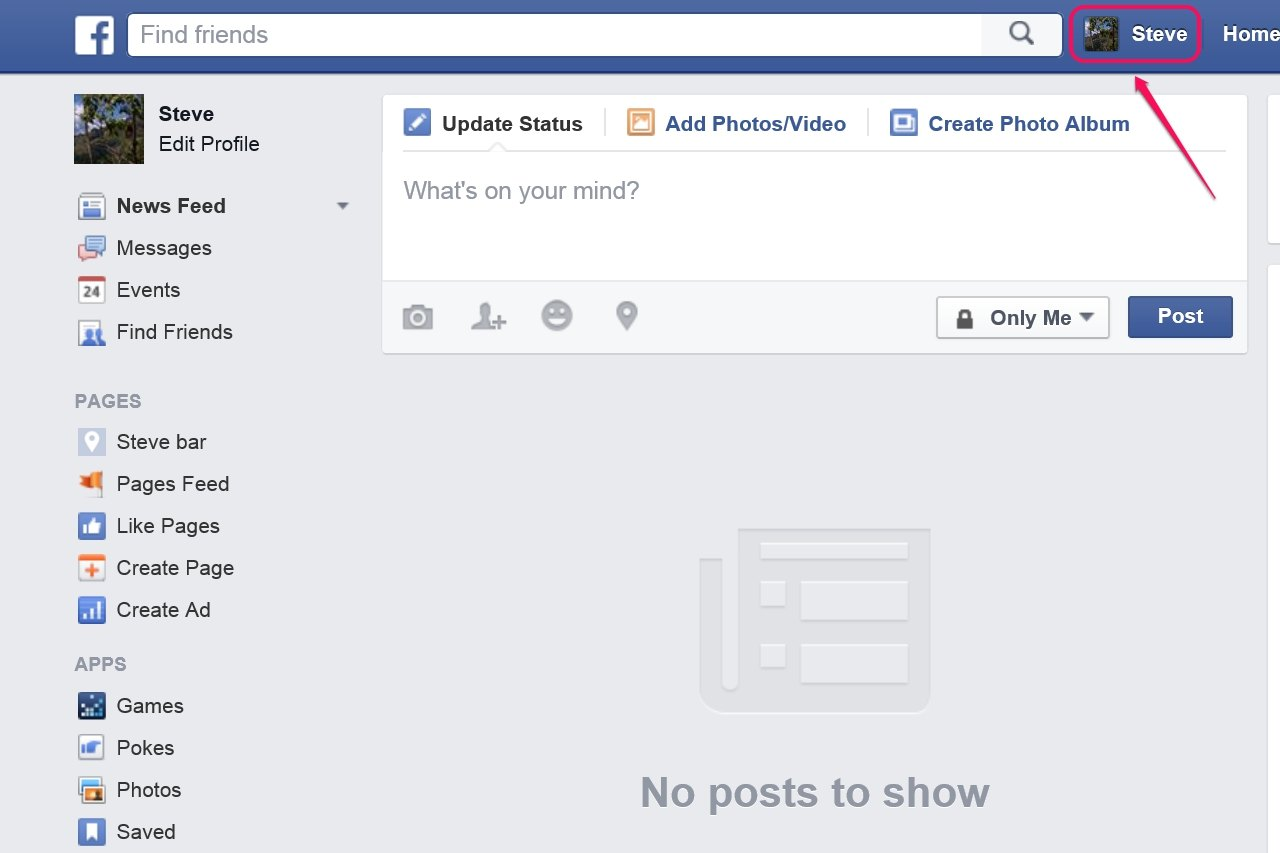 how to change your on facebook