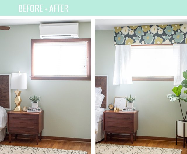 How To Hide An Ac Wall Unit With A Cornice Board Ehow