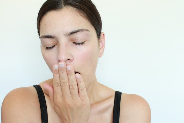 If you slept insufficiently, make sure to drink plenty of water to replenish your body's moisture.