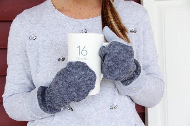How To Make Felted Wool And Fleece Mittens (With Free