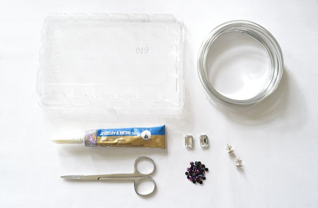 Clean the plastic packaging before you repurpose it for your DIY project.