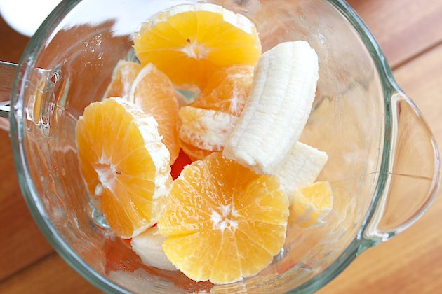 If you prefer a less sweet taste, swap a grapefruit for the orange.
