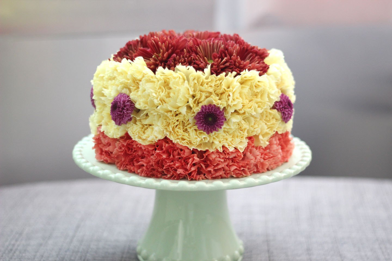 Cakes. Торт из цветов. Торты из цветов. Подарок 1