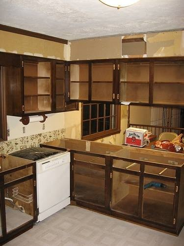 Removing Kitchen Cabinets | eHow