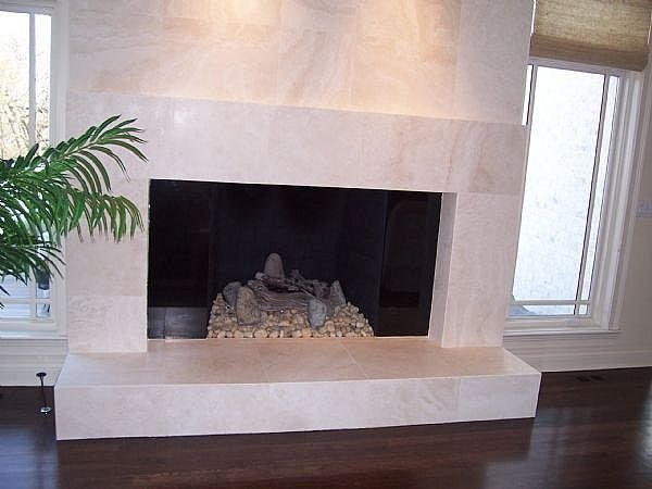 How To Install Marble Tile On A Fireplace Ehow