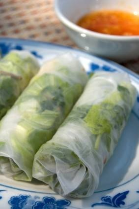 rice paper wrappers Food wrappers aluminum foil = tin foil notes: rice paper = spring roll wrappers = vietnamese rice paper = banh trang wrappers notes: these thin.