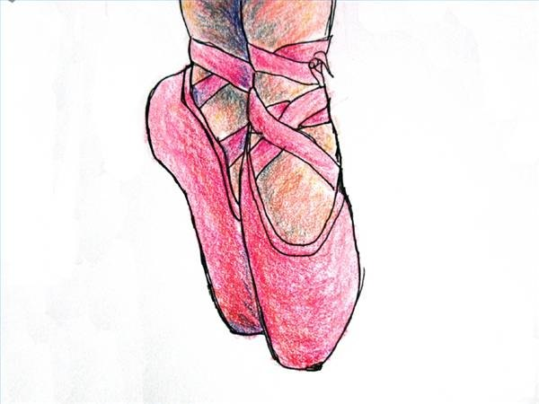 Draw Ballet Shoes
