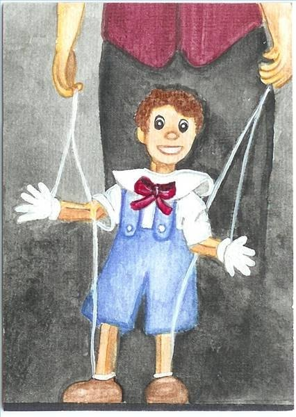 Paper Marionette Puppet