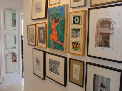 Art Gallery Hallway