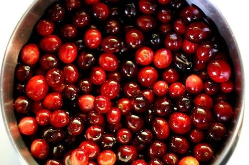 Cranberry juice for prostate infection
