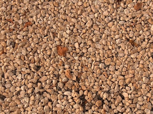 Crushed Rock Types : Types of landscape gravel ehow