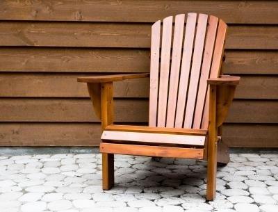 Nicole Crafts Wood Adirondack Chair  Inch