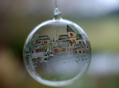 How to Decorate Glass Christmas Ornaments | eHow