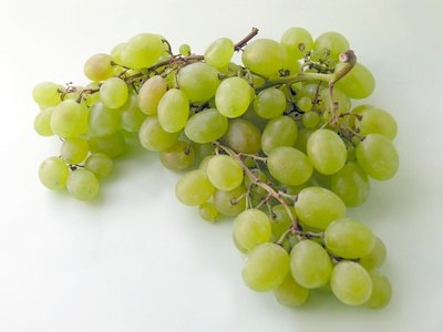 Use grapes to help build a fruit and vegetable racing car.