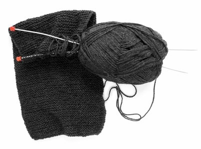 how to finish off a knitted scarf