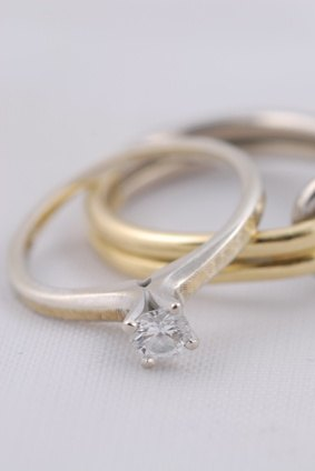 the engagement ring has come a long way - Difference Between Engagement And Wedding Rings